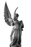 Винтажное изображение унылого ангела Стоковые Изображения RF