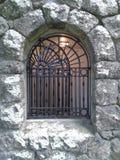 Винтажное каменное окно Стоковые Фотографии RF
