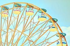 Винтажное колесо Ferris стоковые изображения