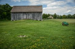 Винтажное место фермы Стоковые Изображения RF