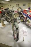 Винтажное мотоцилк, спорт 1955 maico Стоковая Фотография RF