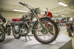 Винтажное мотоцилк, спорт 1955 maico Стоковые Фото