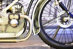 Винтажное мотоцилк, BMW Стоковые Изображения
