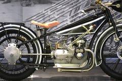 Винтажное мотоцилк, BMW Стоковое Изображение
