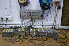 Винтажное оборудование; Студии дороги аббатства, Лондон Стоковое Фото