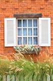 Винтажное окно Стоковые Изображения