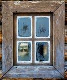 Винтажное окно Стоковые Изображения RF