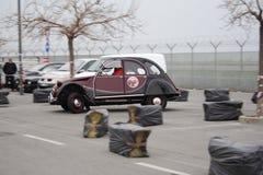 Винтажное ралли Citroà «n 2CV Стоковые Изображения