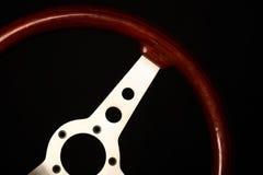 Винтажное рулевое колесо Стоковое Изображение RF