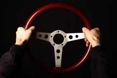 Винтажное рулевое колесо Стоковое Фото
