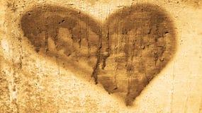 Винтажное сердце Стоковая Фотография RF