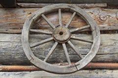 Винтажное сельское колесо Стоковые Фото