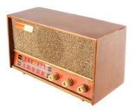 Винтажное старое радио Стоковое фото RF