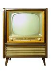 Винтажное телевидение Стоковые Фото