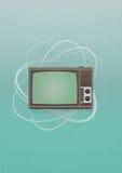 Винтажное телевидение Стоковая Фотография RF