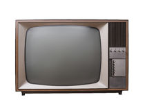 Винтажное телевидение Стоковое Изображение RF