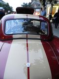 Винтажное Форда кобры sportscar крепко верхнее припаркованное на Watkins Глене Grand Prix стоковая фотография rf