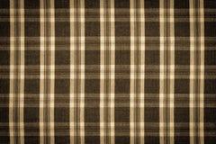 Винтажное фото, checkered рубашка как текстура предпосылки Стоковое Изображение