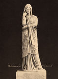 Винтажное фото Pudicizia в музее 1890 Ватикана Стоковые Изображения