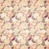 Винтажное французское флористическое затрапезное флористическое шикарное wallaper Стоковая Фотография