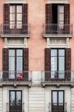Винтажное Balconys Стоковая Фотография RF