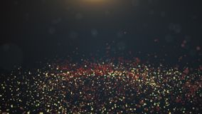 Винтажное bokeh освещает предпосылку абстрактная предпосылка Стоковые Изображения RF