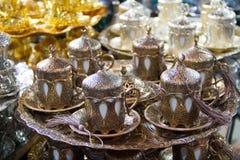 Винтажное coffe установленное на базар для продажи Стоковая Фотография