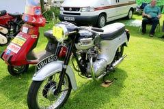 Винтажное Motorcylce и мопед стоковые фотографии rf
