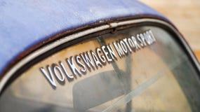 Винтажное Volkswagen Beetle на Circuito de Oro в Парагвае Стоковое Изображение