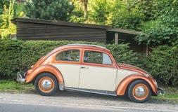 Винтажное Volkswagen Beetle 1200 Стоковые Фото