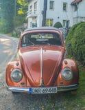 Винтажное Volkswagen Beetle 1200 Стоковая Фотография