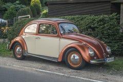 Винтажное Volkswagen Beetle 1200 Стоковая Фотография RF
