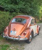 Винтажное Volkswagen Beetle 1200 Стоковое фото RF