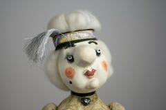 Винтажной фото постаретое куклой Стоковые Изображения