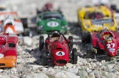 Винтажные автомобили формулы на солнце Стоковые Фотографии RF