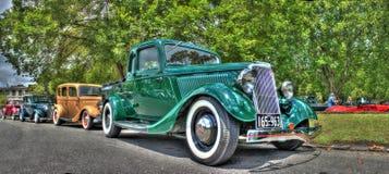 Винтажные автомобили 1920s стоковая фотография
