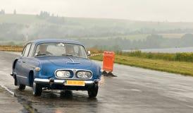Винтажные автомобили Tatra 603 Стоковая Фотография RF