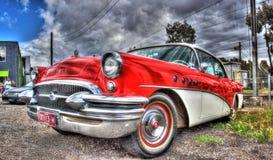 Винтажные американские 1950s Buick стоковое изображение rf
