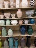 Винтажные вазы Стоковое Изображение