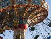 Винтажные веселые идут круг Santa Cruz Калифорния Стоковое Изображение RF