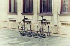 винтажные велосипеды Стоковые Фотографии RF