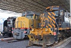 Винтажные двигатели дизеля стоковые изображения rf