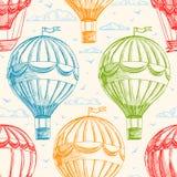 Винтажные воздушные шары Стоковые Изображения