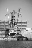 Винтажные грузовые суда Стоковое Изображение