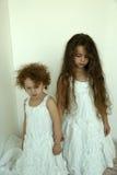 Винтажные девушки Стоковые Фото