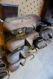 Винтажные деревянные последние ботинка Стоковое Изображение RF
