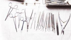 Винтажные зубоврачебные аппаратуры Стоковая Фотография RF