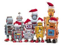Винтажные игрушки робота олова Стоковые Изображения