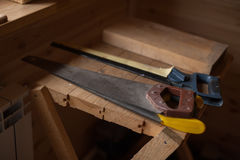 Винтажные инструменты ` s плотника Стоковые Изображения RF