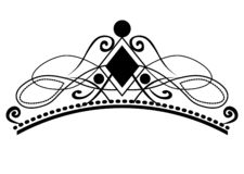 E Винтажные каллиграфические виньетки, элегантные diadems и декоративные элементы дизайна в ретро стиле, векторе бесплатная иллюстрация